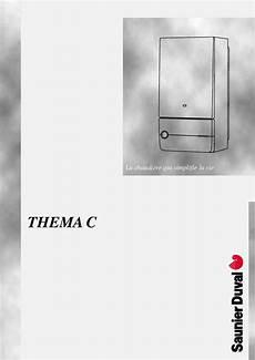 сhoza Acogedora Personales Saunier Duval Thema C 23 E Manual