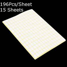 196pcs sheet blank sticky labels 9 x13mm white price stickers tags 15 sheets sale banggood com