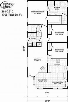 2 br 2 ba house plans modular home floor plan magnolia 3 br 2 ba modular