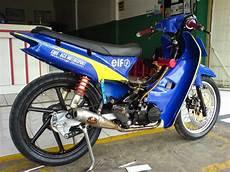 Motor Supra Fit Modifikasi by Modifikasi Motor Supra Fit 2005 Bergaya Racing Style