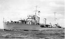 A I Destroyer canadian river class destroyer