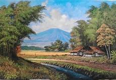 Lukisan Pemandangan Pelukis Kuat Casmoro