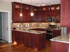 Kitchens Furniture Cherry Kitchen Cabinets For More Beautiful Workspace
