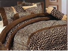 zebra print bedroom luxury 7 animal giraffe print micro fur comforter