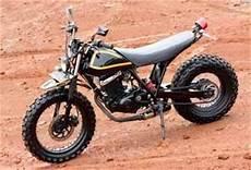 Modif Thunder by Modif Suzuki Thunder 125 Inspiring By Yamaha Tw 200