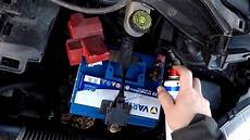 batterie toyota yaris toyota yaris xp9 batteriewechsel car battery replacement