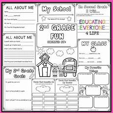 back to school activities 2nd grade by educating everyone 4 life