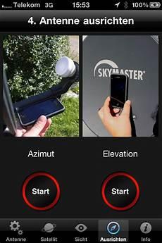 satfinder iphone app chip