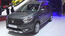 dacia dokker stepway tce 115 dacia dokker stepway unlimited tce 115 s s 2017 exterior and interior in 3d