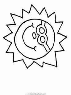 Malvorlagen Sommer Quest Sonne Gratis Malvorlage In Natur Sommer Ausmalen