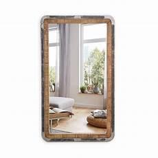 wand spiegel wandspiegel saigon aus mangoholz und metall 70 x 120 cm