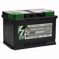 toom baumarkt autobatterie cartec autobatterie eco power 12 v 75 ah ǀ toom baumarkt