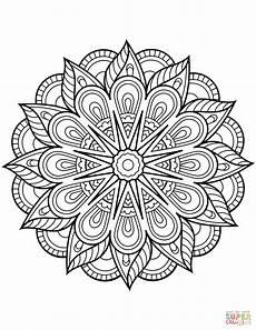 mandala coloring page mandala 17934 flower mandala coloring page free printable coloring pages