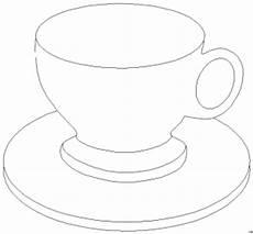 Malvorlagen Tassen Kostenlos Tasse 4 Ausmalbild Malvorlage Objekte