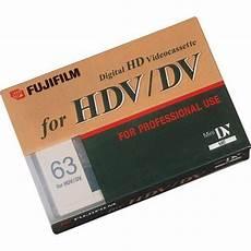 hdv cassette fujifilm hdv cassette 63 minute 15641938 b h photo