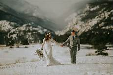 Rocky Mountain National Park Winter Wedding