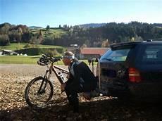 geschwindigkeit mit fahrradträger fahren mit ahk fahrradtr 228 ger mtb news de