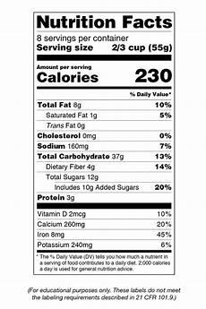 blank nutrition facts label worksheet blog dandk
