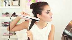 How To Straighten Hair With Curling Iron