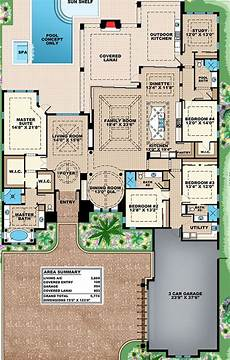 floridian house plans plan 66357we lavish florida house plan florida house