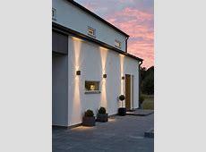 Modena dubbel fasadbelysning   Modern exterior lighting