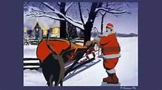 schlittenpanne beim weihnachtsmann lustige e card