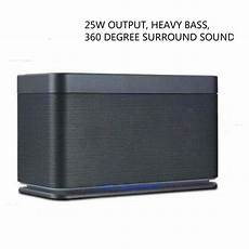 Bluetooth High Power Bass Sound Speaker by ᑕ ᑐ Column High Power Bass Bluetooth Speaker Surround