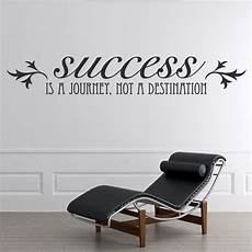 inspirational wall sticker quotes success is a journey wall sticker inspirational quote wall