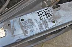 finding your mercedes factory paint color code and exterior trim problem mercedessource com