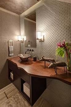 plan vasque bois salle de bain plan vasque bois brut dans la salle de toilette osez le