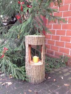 Deko Ideen Aus Holzstämmen - dekoration weihnachten kerze baumstamm in h 246 velhof tree