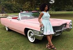 Pink Cadillac  Convertible For Wedding Hire In