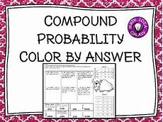 compound probability worksheets 7th grade 6017 compound probability activity by idea galaxy teachers pay teachers