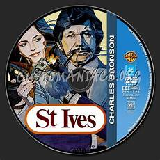 charles bronson collection st ives dvd label dvd covers labels by customaniacs id