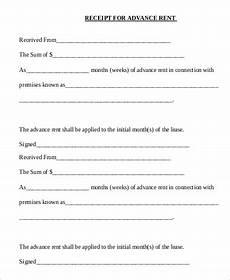 rent receipt format sle 8 exles in pdf