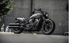Chopper Motorcycle Wallpaper 4k by Wallpapers Indian Scout Bobber 2018 Thunder