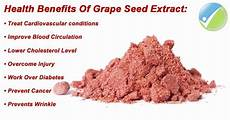 Extract Benefits by Grape Seed Extract Benefits Side Effects And Proper Dosage
