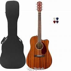 Fender Cd 140sce All Mahogany Semi Acoustic Guitar Buy