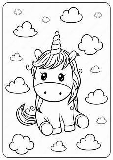 Malvorlagen Unicorn Yellow Unicorn Coloring Page In 2020 Unicorn Coloring
