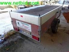 humbaur anhänger gebraucht humbaur h75b 1 achs pkw anh 228 nger gebraucht kaufen auction