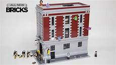 lego ghostbusters 75827 firehouse headquarters speed build