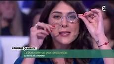 lunettes loupe de maquillage