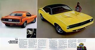 1970 Plymouth Brochure  Vintage Car Ads Pinterest