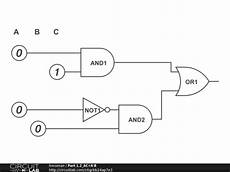 part 1 2 ac a b circuitlab