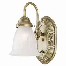 westinghouse 1 light oyster bronze interior wall fixture with on off switch and frosted ribbed