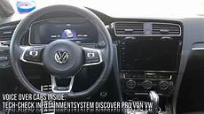 vw golf 7 gte facelift infotainment check on