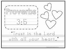 free bible handwriting worksheets 21695 bible verse proverbs 3 5 tracing worksheet preschool kdg bible stories