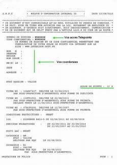 releve d information integral le relev 233 int 233 gral d information du permis 224 points