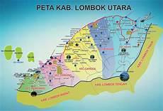 nuptk lombok utara peta kota peta kabupaten lombok utara klu