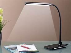 Schreibtischle Led Dimmbar - lunartec led schreibtischleuchte dimmbare led